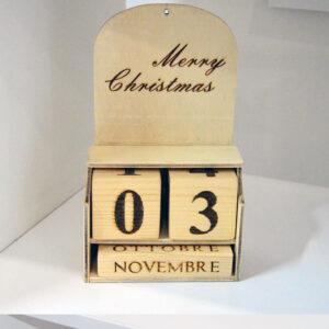Calendario da tavolo 3d